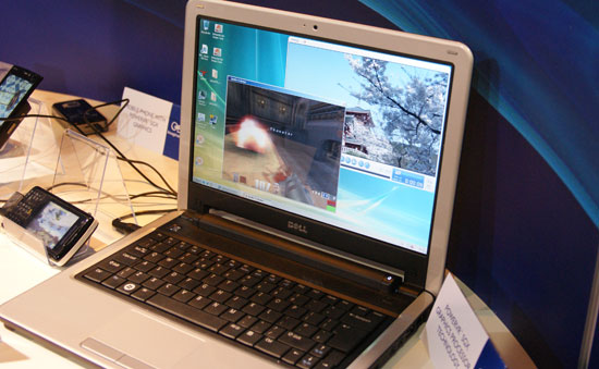 Dell inspirion mini 12 mit Q3a und Video